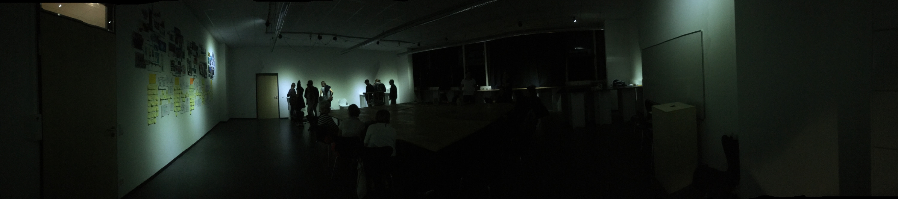 A panorama picture of the Interface Lab at the University of Wuppertal.